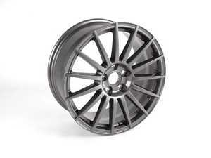 "ES#248714 - 8e0601025bd - 18"" 15-Spoke Wheel - Priced Each - 18""x8"" 5x112 ET43 - Titanium Grey - Genuine Volkswagen Audi - Audi"