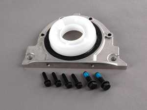 ES#19237 - 11141438274 - Rear Crankshaft Cover - With Seal - Includes seal and mounting hardware - Genuine BMW - BMW