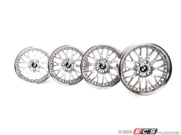 "ES#2092668 - 3611033 - 17"" Style 42 Cross Spoke Wheel - Set - (NO LONGER AVAILABLE) - Complete set of wheels to give your car a makeover - Genuine BMW -"