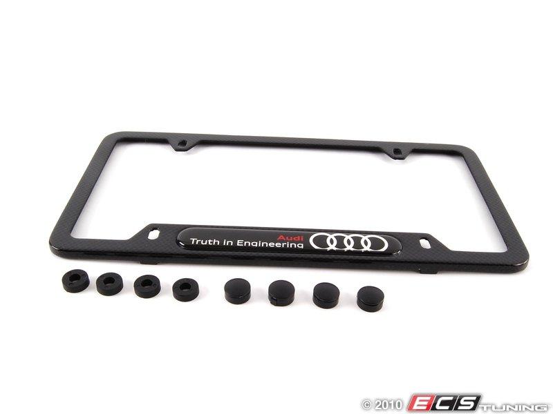 Audi B7 Rs4 V8 8k0071801b Carbon Fiber License Plate