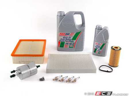 ES#250968 - b7a42.0t40kkt - 40k Service Kit - Everything you need to perform the recommended 40k mile service - Assembled By ECS - Audi