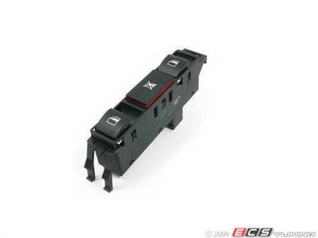 ES#167002 - 61316902184 - Window Switch - Left - Controls front and rear windows, also controls window lock-out - Genuine BMW - BMW