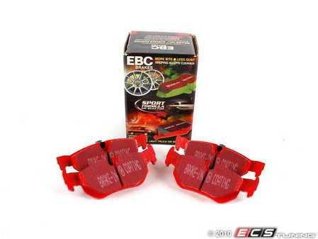 ES#520379 - DP31577C - Rear RedStuff Performance Brake Pad Set - A high performance street pad, featuring Kevlar technology - EBC - BMW