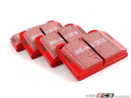 ES#520194 - DP3103C - RedStuff Performance Brake Pad Set - A high performance street pad featuring Kevlar technology - EBC - Porsche
