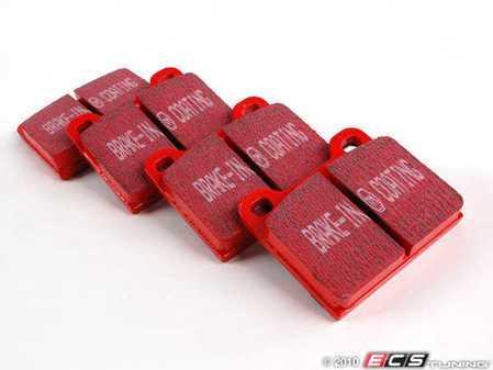 ES#520197 - DP3104C - RedStuff Performance Brake Pad Set - A high performance street pad featuring Kevlar technology - EBC - Mercedes Benz Porsche