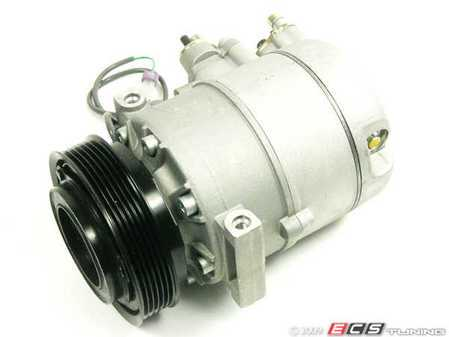 ES#523173 - 4B0260805B - A/C Compressor - Includes the electromagnetic clutch assembly - Denso - Audi