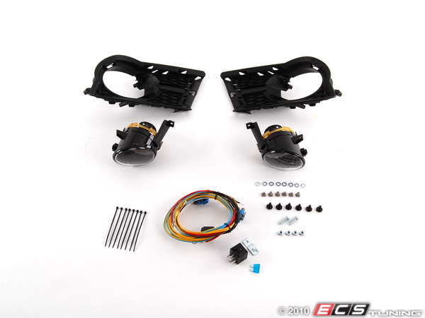 ES#2092642 - 5N0898002 - Fog Light Kit - Everything you need to install fog lights on your Tiguan - Assembled By ECS - Volkswagen