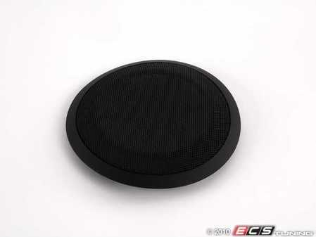 ES#98626 - 51416975503 - Black Door Speaker Cover - Left - Replace your broken speaker cover - Genuine BMW - BMW