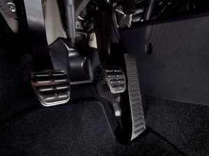 ES#2502574 - 1K1064200A - Pedal Caps - Manual Transmission - Three piece aluminum pedal set to personalize your interior - Genuine Volkswagen Audi - Audi Volkswagen