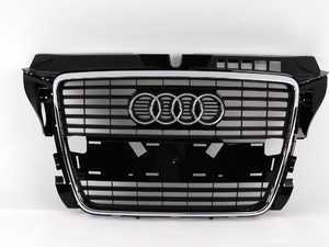 ES#2100365 - 8P0853651PT94 - Grille Assembly - Glossy Black - Direct replacement grille for your A3 - Genuine Volkswagen Audi - Audi