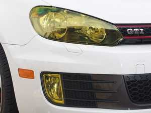 ES#1896834 - VW126-Y - Fog Light Protective Film - Yellow - Euro looks and protection at the same time - Lamin-X - Volkswagen