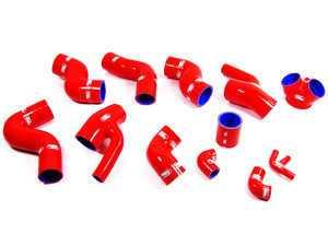 ES#739 - tcs151-red - Samco Boost Hose Kit - Red - 12 Hose Kit, TCS 151 - Samco - Audi