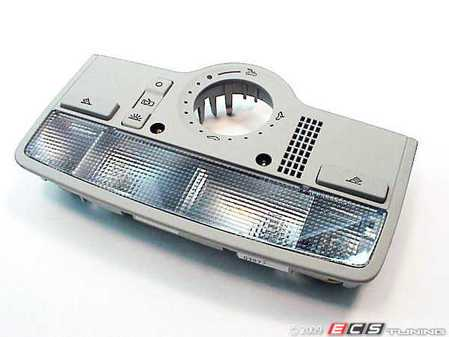 ES#1779 - 3B7947106B2EN - Passat W8 Dome Light Assembly - Late Vin - Pearl Grey - Get some increased appeal with this OE part - Genuine Volkswagen Audi - Volkswagen