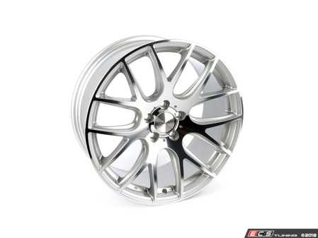 """ES#3618814 - 3S1981Csd - 19"""" Style 0.01 Wheel - Single Wheel - *Scratch And Dent* - *Please see description prior to ordering* 19x8.5 5x112 Et42 Silver With Polished Face - 3SDM - Audi"""