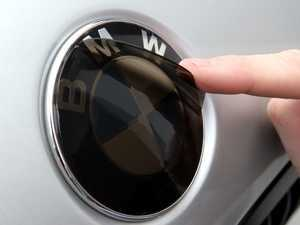 ES#2081128 - BMWRDL-S - Smoke Roundel Protection Set - 80mm - Provides a custom look and protection at the same time - Lamin-X - BMW