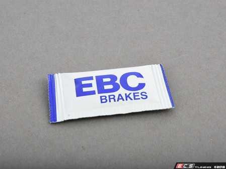 ES#520558 - DP3605/2C - EBC Redstuff Ceramic Pad - AC/Mercury - Front - EBC -