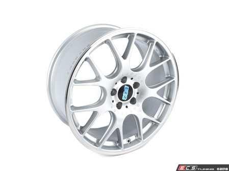 "ES#3137661 - CH122SPOKT - 19"" CH-R - Set Of Four  - 19""x8.5"" ET40 5x112 - Brilliant Silver/Polished Stainless Steel - BBS - Audi Volkswagen"
