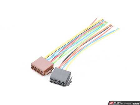 ES#3619860 - AC1111/330 - VDO Headunit Wiring Harness - Includes connector from headunit and pigtail - VDO - BMW MINI Porsche