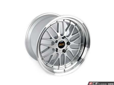 """ES#3618900 - LM415DSPK - 19"""" x 12"""" LM - Diamond Silver/Diamond Cut - 19x12.0, ET50, 5x130, 71.6CB - Priced Each - BBS - Porsche"""