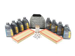 ES#2717993 - 2730940404KT2 - C300 4Matic 'B' Service Kit - Everything you need to perform a 'B' service - Assembled By ECS - Mercedes Benz
