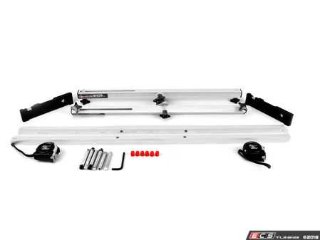 """ES#3619059 - 416450 - Quick Trick 4th Gen Slider Alignment System - 17""""-22"""" - Caster, Camber and Toe settings done quickly and accurately in a kit. Comes with 2 gauges and slotted bars for quicker set up! - Quick Trick - Audi BMW Volkswagen Mercedes Benz MINI Porsche"""