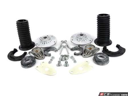 ES#3509495 - 31306863135KT - Cup Kit/Coilover Installation Kit - With Spring Pads - Everything you need to install coilovers, shocks/struts, or a cup kit on your BMW - Assembled By ECS - BMW