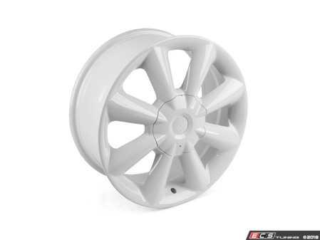 "ES#3621886 - 103-1KT - 17"" Style 103 Wheels - Set Of Four - 17""x7"" ET45 72.56CB (72.6CB) 5x120 - White - Alzor - BMW MINI"