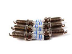 ES#261314 - 12120032138 - Spark Plugs - Set Of Six (#FR7NPP332) - From an original equipment supplier. - Bosch - BMW