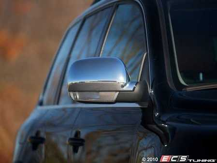 ES#414250 - 7L00725301ZL - Chrome Look Mirror Caps - (NO LONGER AVAILABLE) - A easy way to change the exterior of your Touareg - Genuine Volkswagen Audi -