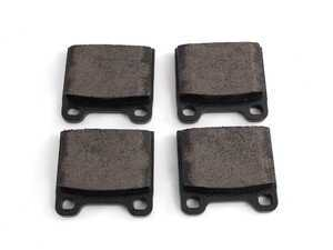 ES#8718 - 0014200620 - Rear Brake Pad Set - Does not include new brake pad wear sensors - Textar - Mercedes Benz