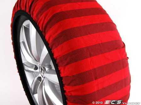 ES#2137176 - C60062 -  Classic C-600 Textile Snow Chains - Small - Entry level unit used for safe winter driving - Isse - Audi BMW Volkswagen Mercedes Benz MINI Porsche
