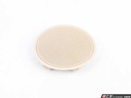 ES#2711837 - 51417345184 - Front Door speaker cover  - Beige - Genuine BMW - BMW