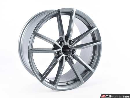 "ES#3647373 - 487-1KT - 19"" Style 487 - Set Of Four - 19""x8.5"" ET45 5x112 - Gunmetal - Alzor - Audi Volkswagen"