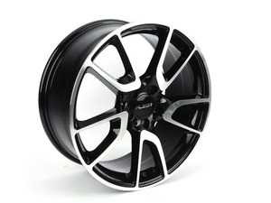 "ES#3647375 - 625-1KT1 - 19"" Style 625 - Set Of Four - 19""x8.0"" ET30 5x112 - Black/Machine Face - Alzor - Audi MINI"