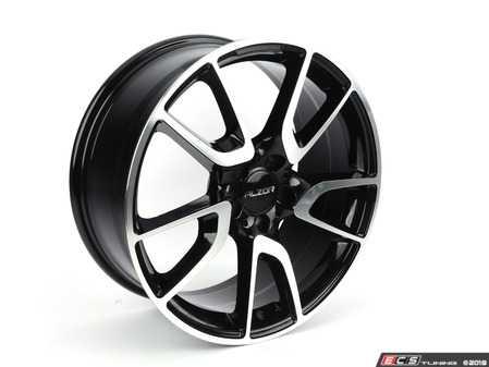 """ES#3647375 - 625-1KT1 - 19"""" Style 625 - Set Of Four - 19""""x8.0"""" ET30 5x112 - Black/Machine Face - Alzor - Audi MINI"""