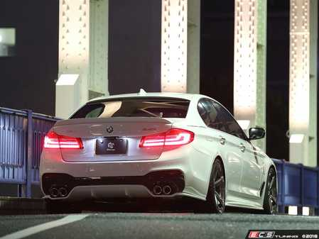 ES#3623008 - 3108-33011 - Rear Diffuser  - Super aggressive styling that sits low and under the exhaust tips. - 3D Design - BMW