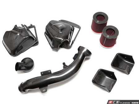 ES#3623068 - 5402-25511 - Carbon Fiber Intake Kit - Full carbon construction, BMC filter, and air scoops; the total package. - 3D Design - BMW