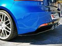 ES#3623951 - VW-GO-6-R-RSD1-G - Rear Side Splitter Set - Gloss Black - Enhance your R's exterior appearance - Maxton Design - Volkswagen