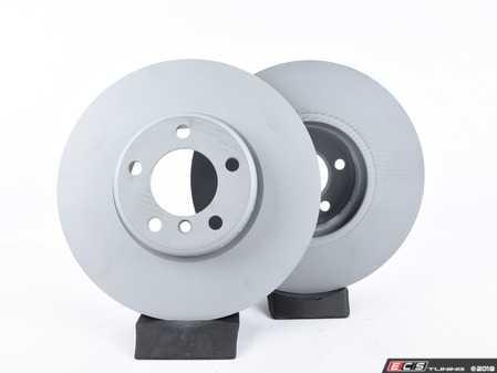 ES#2998729 - 5Q0698451EKT1 - Rear Brake Service Kit (253x10) - Featuring Bosch rotors and TRW pads - Assembled By ECS - Volkswagen