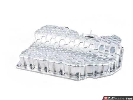 ES#3579407 - 06K103600R - Cast Aluminum Oil Pan - Replace your factory plastic oil pan with cast aluminum - URO Premium - Audi Volkswagen