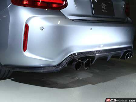 ES#3623007 - 3108-28721 - Carbon Fiber Rear Diffuser Type II - Set your M2 apart from the rest! - 3D Design - BMW