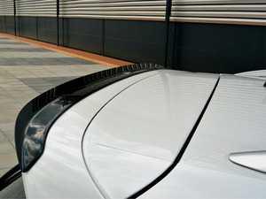 ES#3624050 - VWTI2RLINECAP1 - Hatch Spoiler Extension - Textured Black - Enhance your Tiguan's exterior appearance - Maxton Design - Volkswagen