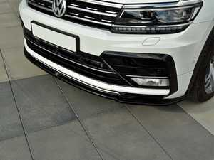 ES#3624049 - VWTI2RLINEFD1-G - Front Lip Spoiler - Gloss Black - ABS plastic splitter that will enhance the look of your vehicle in minutes! - Maxton Design - Volkswagen