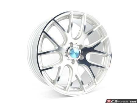 """ES#3619950 - 3S1981Csd1 - 19"""" Style 0.01 Wheel - Single Wheel - *Scratch And Dent* - *Please see description prior to ordering* 19x8.5 5x112 Et42 73mm CB - Silver With Polished Face - 3SDM - Audi"""