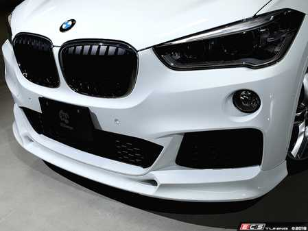 ES#3622978 - 3101-24811 - Front Lip Spoiler - Super aggressive styling and a lowered look with this front spoiler from 3D Design. - 3D Design - BMW