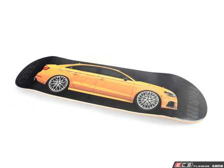 ES#3624066 - RS3SKATEDECK - H&R Limited Edition Skate Deck - Audi RS 3 - Grab your H&R skateboard while they're still available! - H&R - Audi BMW Volkswagen Mercedes Benz MINI Porsche