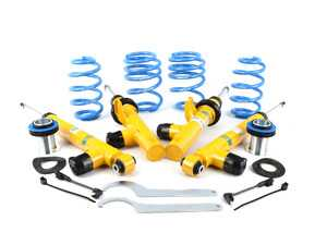 ES#3546655 - 49-255874 - B16 Damptronic Coilover Kit - Features ride height adjustability with dampers compatible with OE electronic damping systems. - Bilstein - Volkswagen