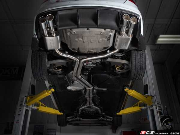 Introducing the ECS Audi B8 S4 Valved Cat-Back Exhaust