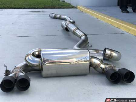 ES#3438824 - 11-042 - Signature Performance Turbo-Back Exhaust System - Reduces weight, improves torque and horsepower numbers, and adds a deeper more growl-like sound than stock. - Active Autowerke - BMW