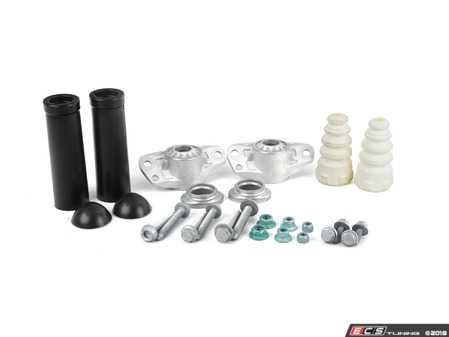 ES#3492759 - 1k0513353r8KT - Rear Suspension Installation Kit - Includes rear shock and spring hardware - Assembled By ECS - Volkswagen